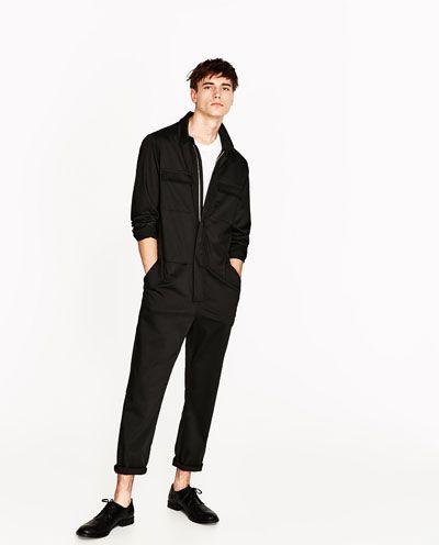 new york top-rated genuine fast color BLACK TECHNICAL JUMPSUIT | Fashion in 2019 | Zara man, Zara ...