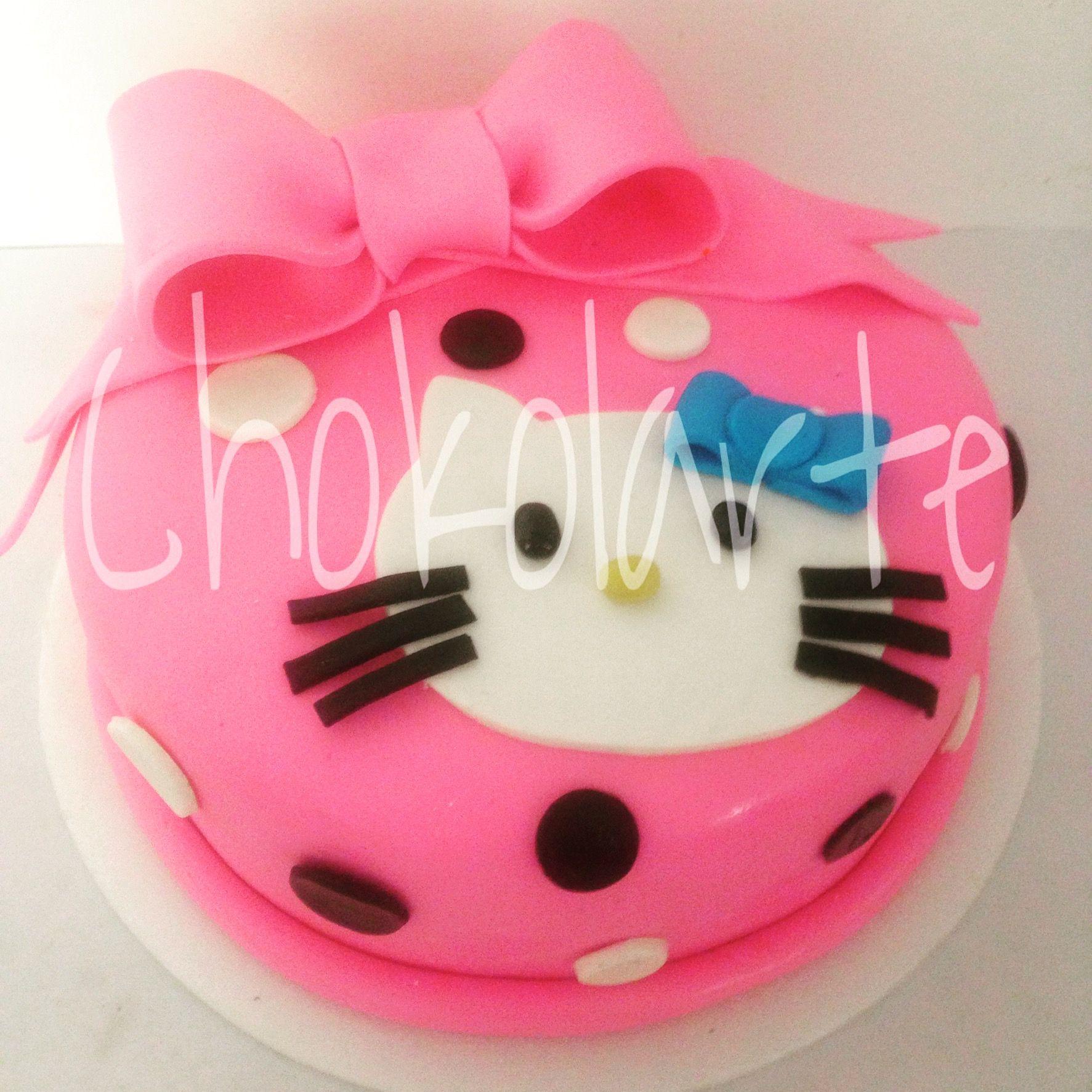 Torta Hello Kitty  Pedidos 318-502-2822  Cali Colombia