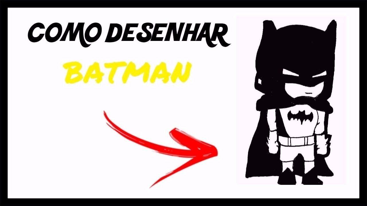 Como Desenhar O Batman Chibi Passo A Passo Batman Desenhos Chibi