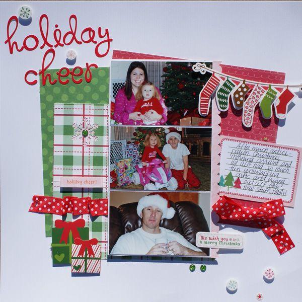 Holiday Cheer - Scrapbook.com