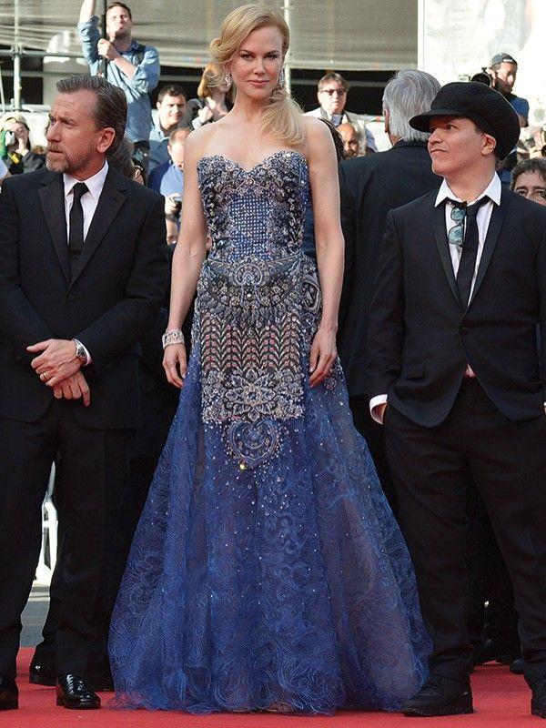 Nicole Kidman in Armani Prive - Cannes