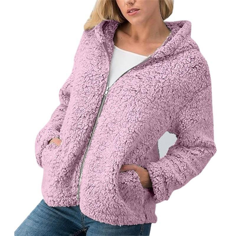 Women Casual Asym Plaid Checks Long Sleeve Cardigan Knitwear Outwear Coat Jacket