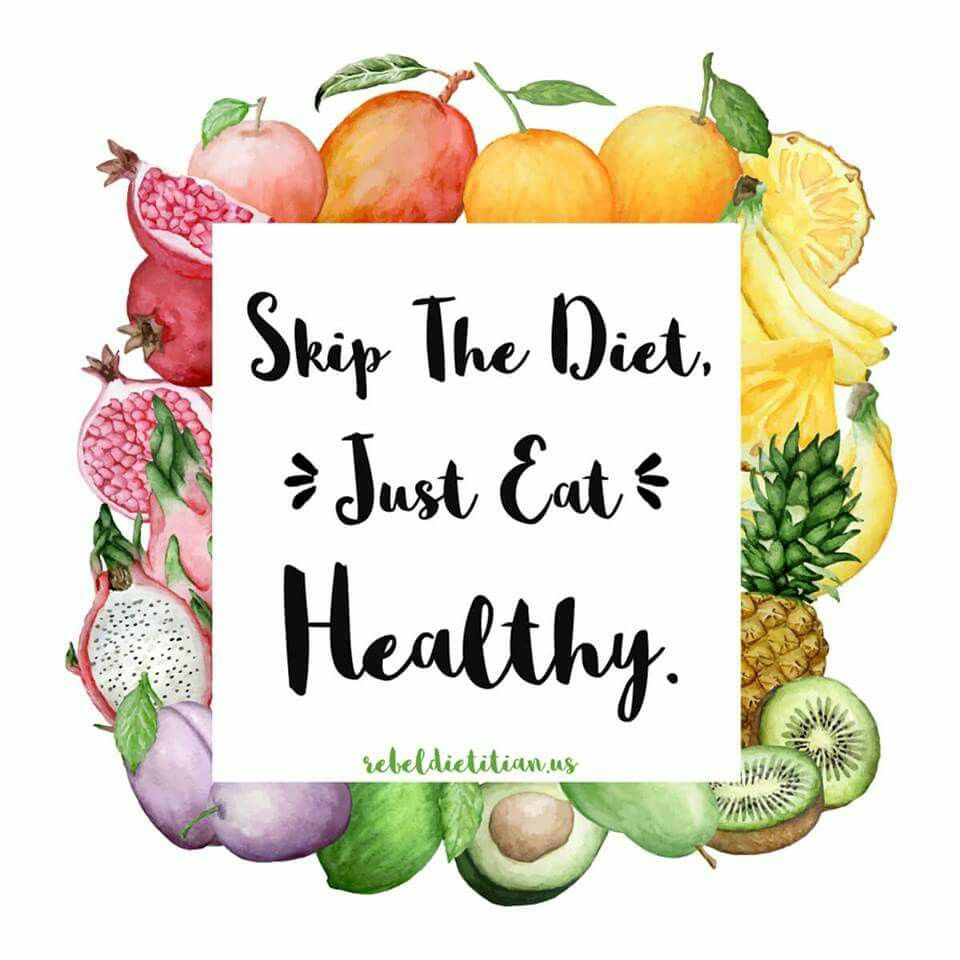 Healthy Eating Quotes On Healthy Food