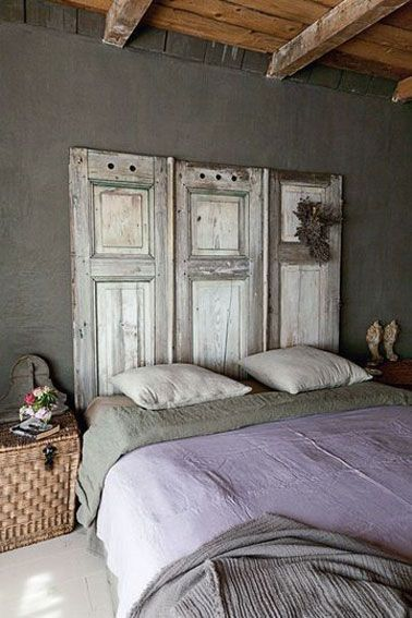 8 t tes de lit d co faire pour pas cher campagne chic. Black Bedroom Furniture Sets. Home Design Ideas