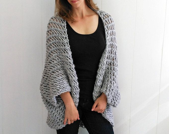 Knit Sweater Pattern Knit Blanket Sweater Knitting Pattern Shrug
