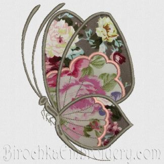 Applique Butterfly Machine Embroidery Designs