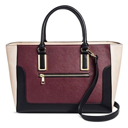 Women S Structured Tote Handbag Mossimo Target