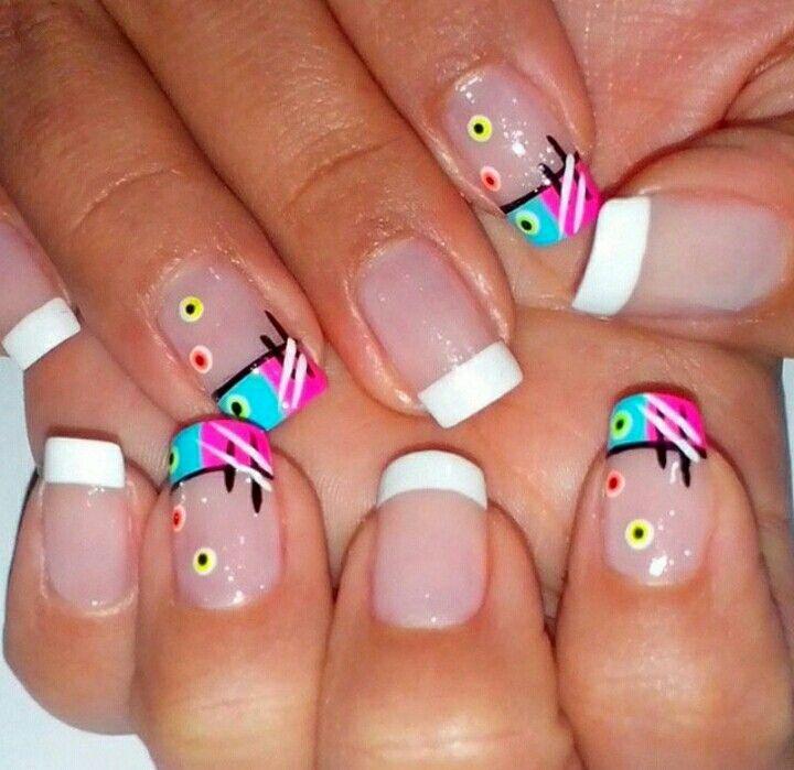 Pin by Liliana Garcia on uñas   Pinterest   Manicure, Spring nails ...