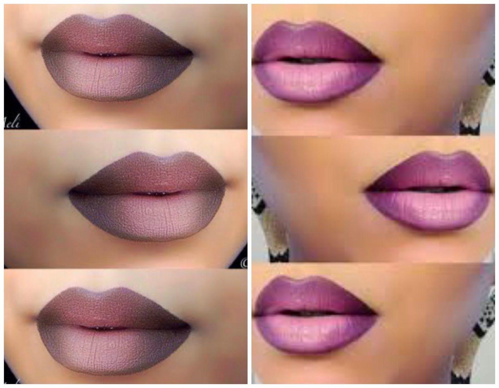como pintarse los labios paso a paso buscar con google