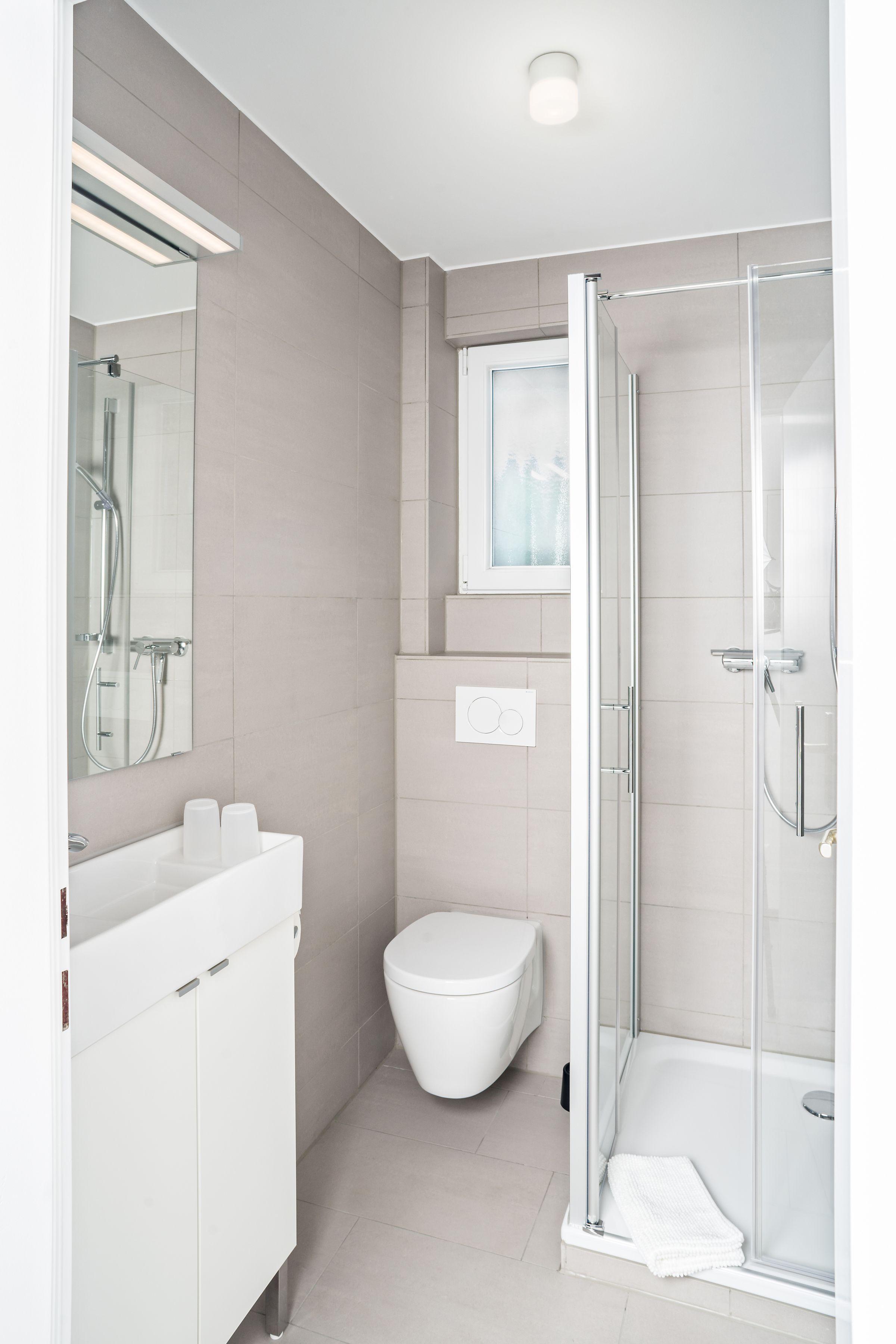 Gelbe Lodge: Blitzsauber duschen  Ferienwohnung cuxhaven
