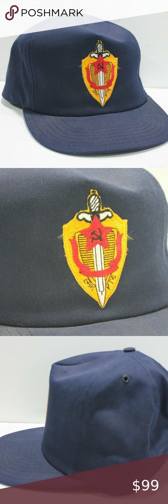 Hat Cap Trucker Snapback Soviet Union Kgb Usa Made Soviet Union Kgb Trucker Hat Snapback Made In The Usa Collectors Stash Soviet Union How To Wear Snapback