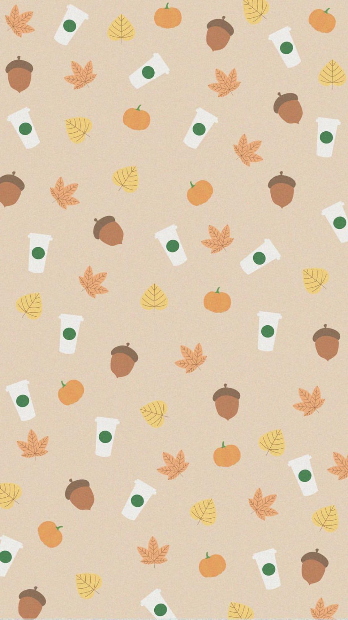 Starbucks Background Fall Autumn Wallpaper Iphone Wallpaper Fall Starbucks Wallpaper Fall Wallpaper