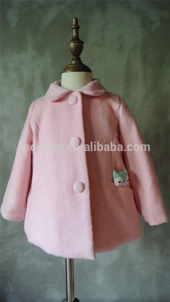 35aaeca6ac25 Wholesale New Design Winter Wool Coat Sale For Children Girl