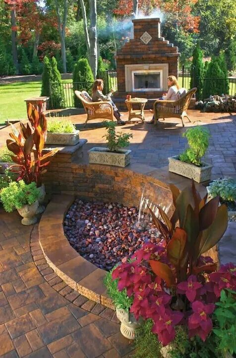 peaceful would love sitting here especially at night on wow awesome backyard patio designs ideas for copy id=31877