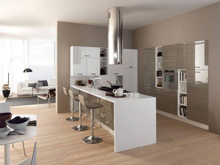 cucina penisola con finestra - Cerca con Google  Cucine ...