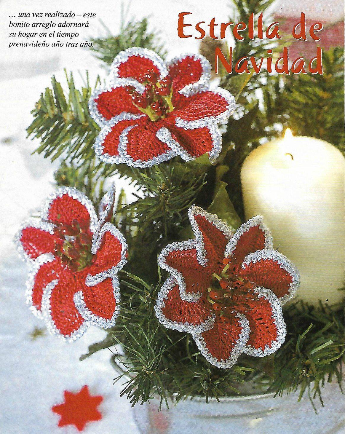 Excelente Navidad Patrones De Ganchillo Bosquejo - Manta de Tejer ...