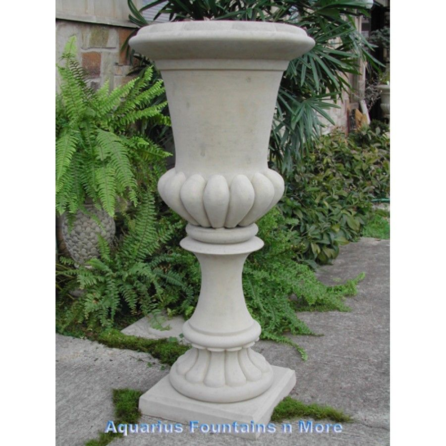 Tall fluted urn planter this store offers many different textures tall fluted urn planter this store offers many different textures and finishes to their planters reviewsmspy