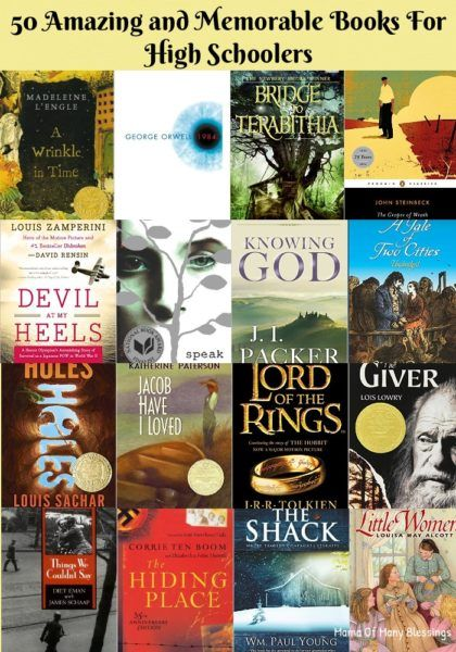 100 Of The Best Books For Your High School Student | audio