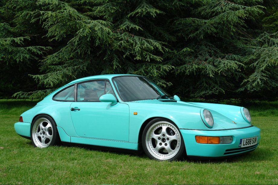 Mint Green 964turbo · Porsche 911 964Cars ...