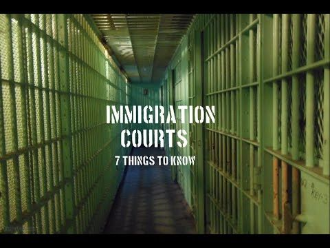Immigration Courts - An update for UNNJ cases.