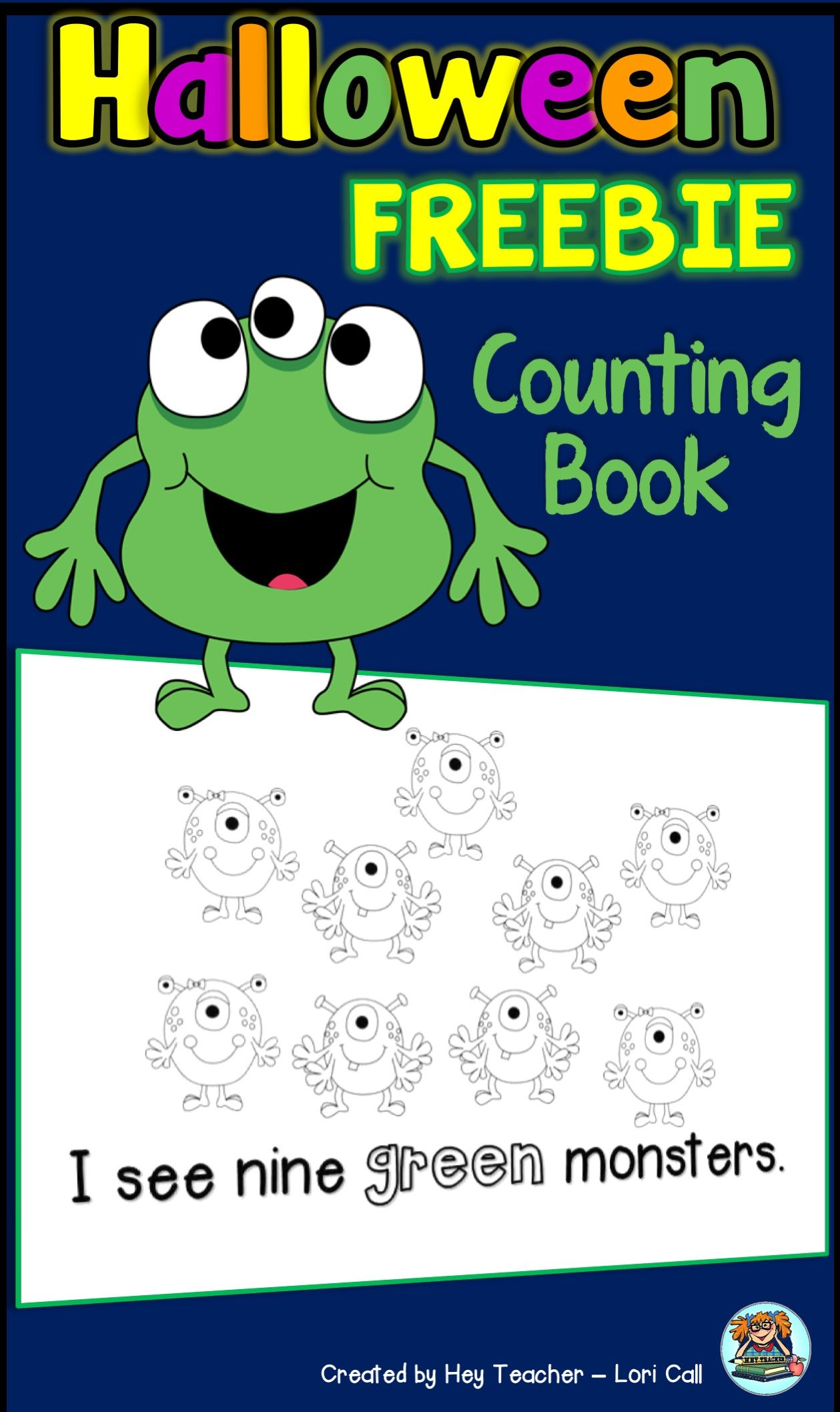 FREE Halloween Printable for Kids! Number Printing Practice and ...