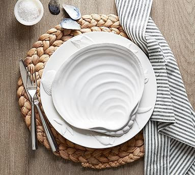 Seashore Dinner Plate Driven By Decor Placemats Pottery Barn