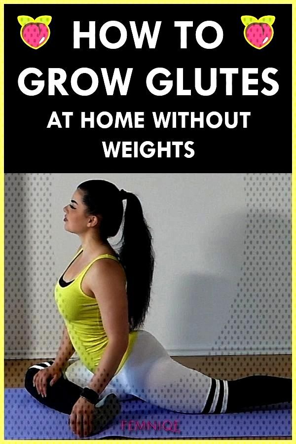 How To Grow Glutes Bigger amp Rounder At Home (No Weights, No Squats!) How To Grow Glutes Bigger amp Ro
