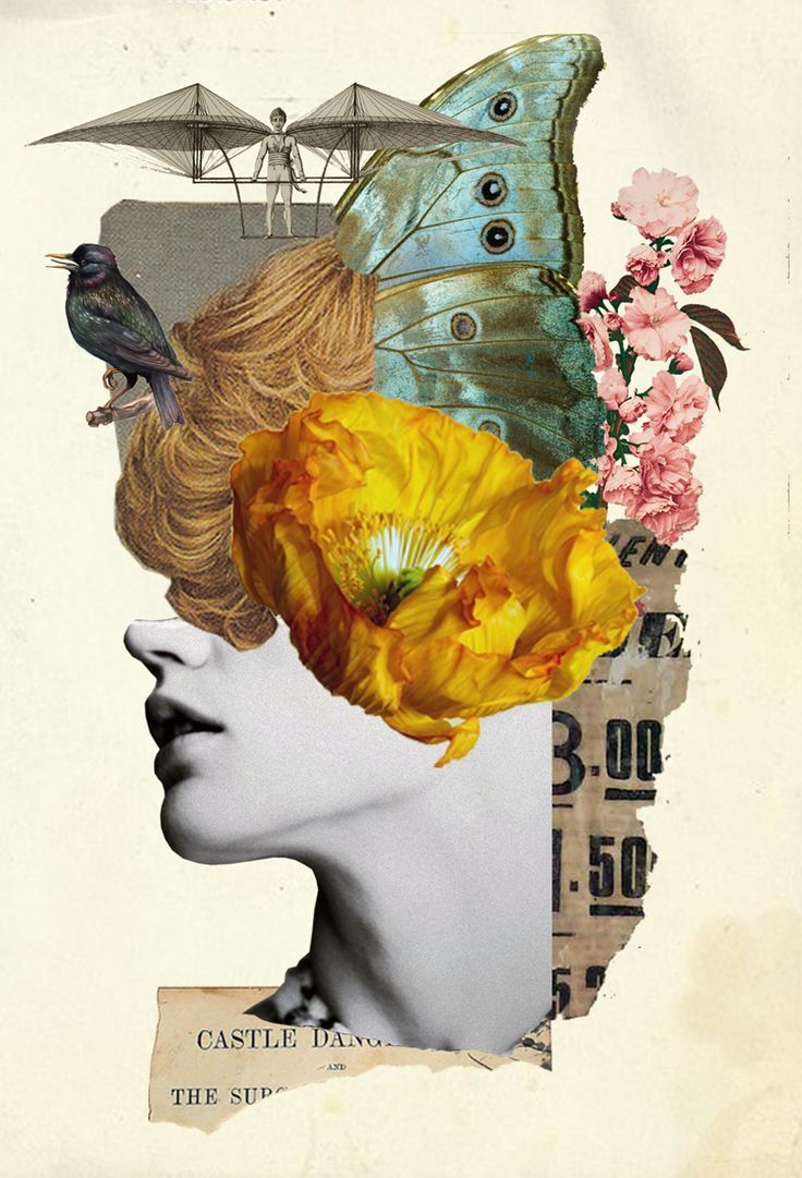 Collage by W Strempler | Made in 2019 | Dada art, Collage ...