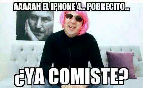 Funny Memes For Iphone : Aahh pero con iphone jaja