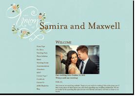 Free wedding websites & matching wedding invitations - mywedding.com