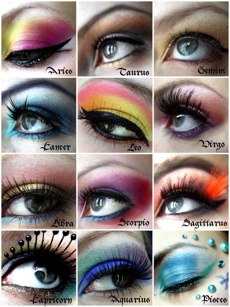 Zodiac Star Sign Based Makeup Makeup Goals Zodiac Sign Fashion