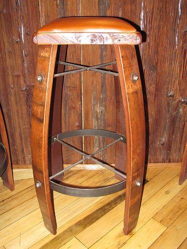 Wood Stool Diy Bar