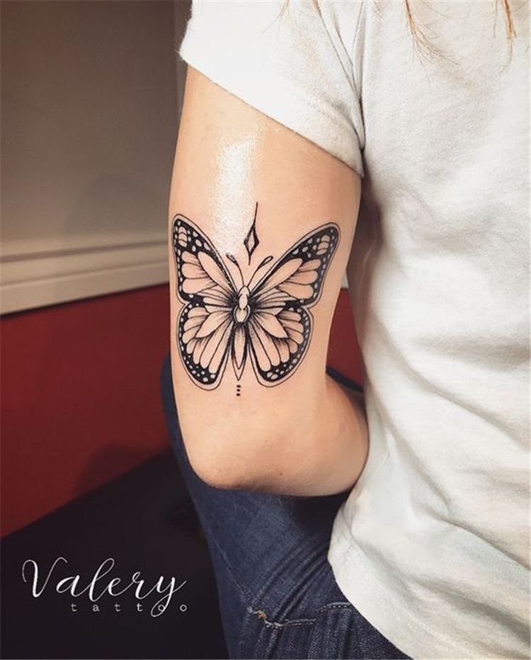 Butterfly Tattoo Ideas You Will Love Butterfly Tattoo Small Butterfly Tattoo In 2020 Rose And Butterfly Tattoo Butterfly Tattoo Designs Butterfly With Flowers Tattoo