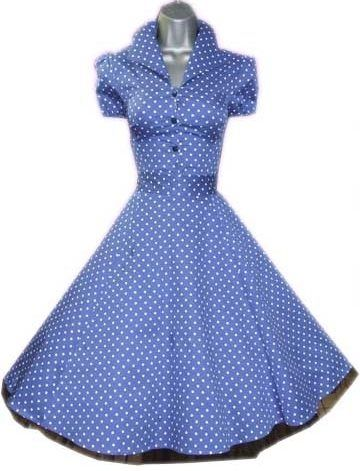 ed94ff945c3a The Lucy Shirt Dress in Blue by H London is a fabulous and classic piece.  For a stylish and authentic 50's look, dress it up for night with pearls  and high ...