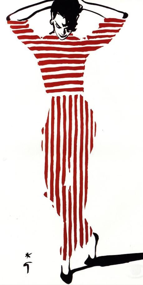 Photo of Rene Gruau Fashion Illustrations