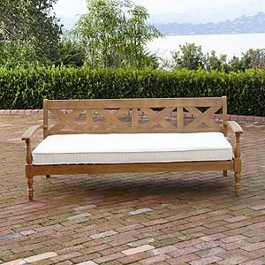 Maldives Deep Bench Outdoor And Patio Furniture World Market