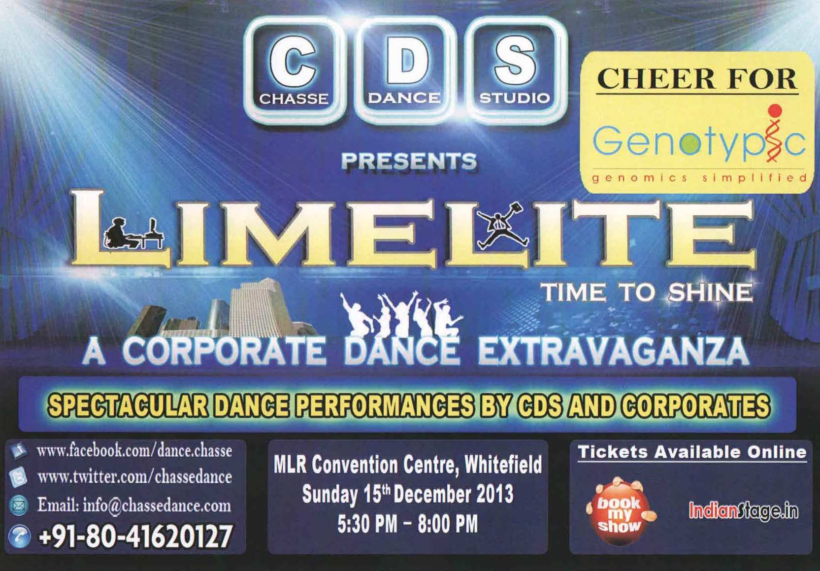 Genotypic participates in the LIMELITE A Corporate Dance