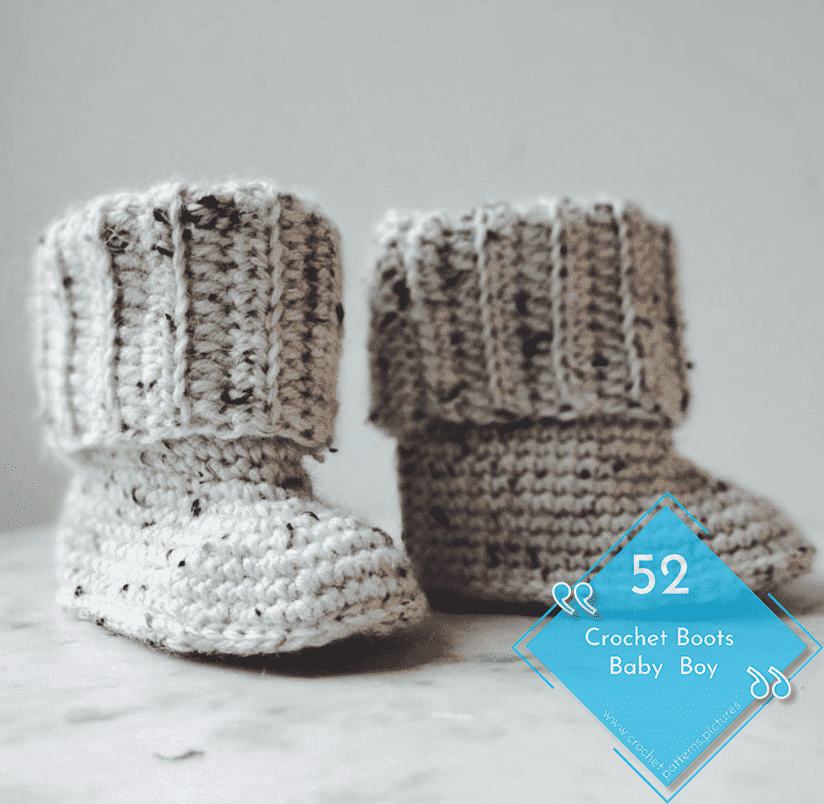 Photo of 52 Crochet Boots With Modern Patterns For Baby Boys. Advice Model: 35