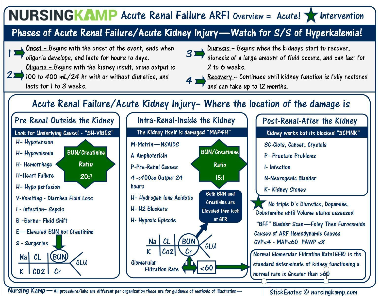 Nursing Resources Study Sheets For Student And Nclex
