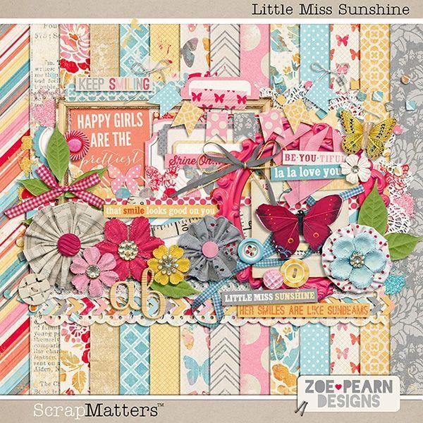 Little Miss Sunshine by Zoe Pearn