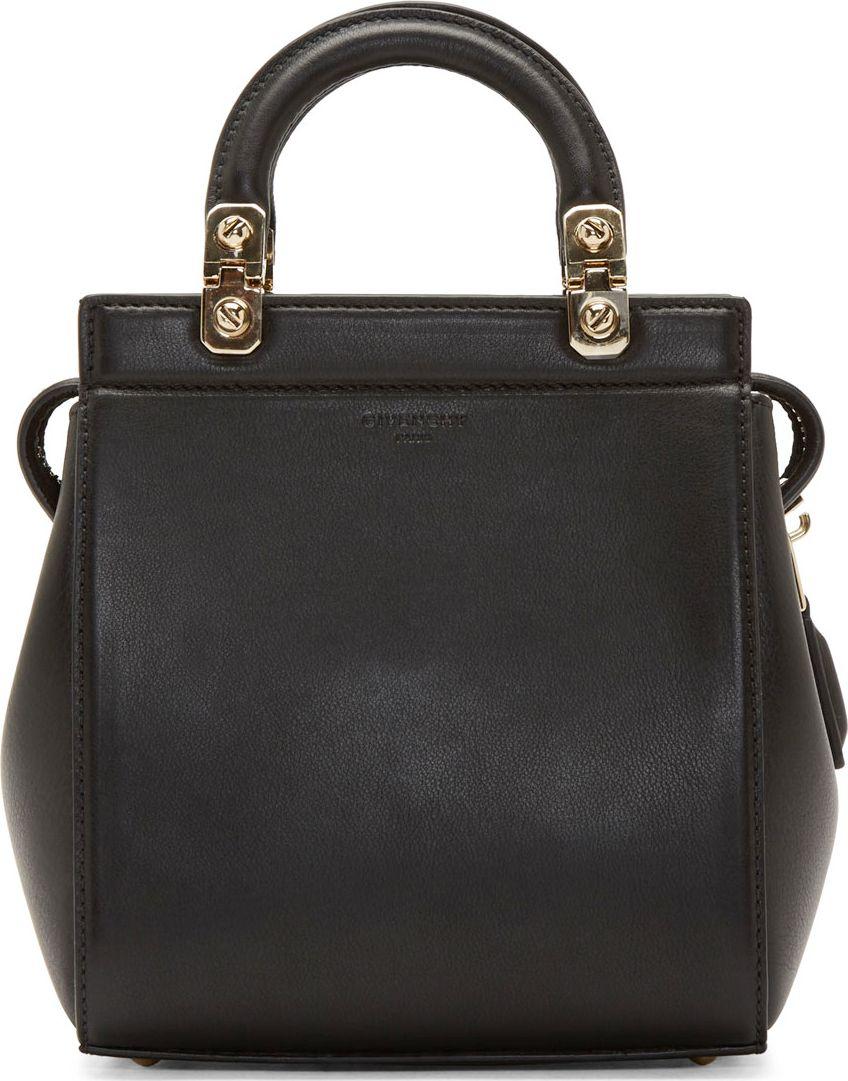 a8bbfe8a86f Givenchy Black Monogrammed Mini Shoulder Bag | Tote. | Bags ...