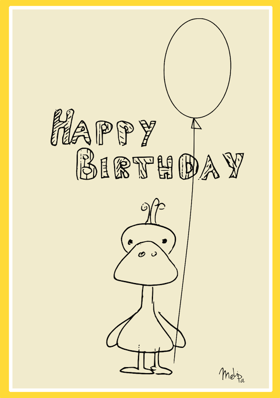 Round Up Of Free Printable Cards From   Happy Birthday Card Templates Free