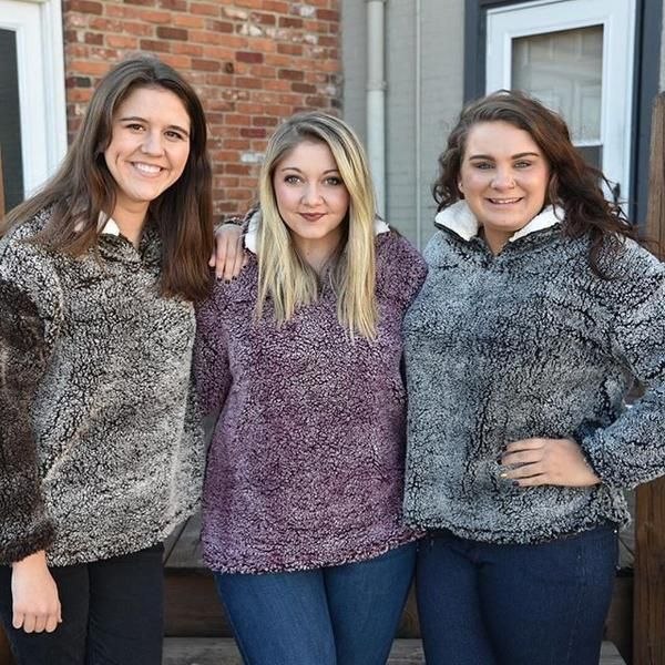 You will DIE when you feel how soft and fluffy this jacket is. Seriously lightweight, seriously warm, you won't want to miss this fabulous pullover. Very gene