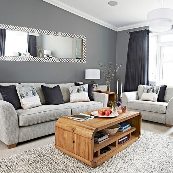 Find out how to make a grey living room, warm and vibrant with stunning accessories  ~ Great pin! For Oahu architectural design visit http://ownerbuiltdesign.com