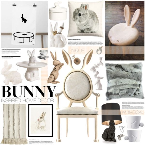 Bunny Decor By Emmy On Polyvore