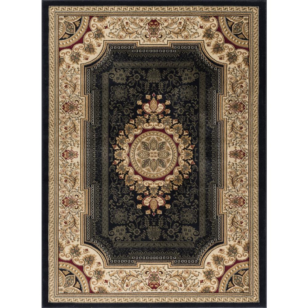 Tayse Rugs Sensation Red 11 Ft X 15 Ft Traditional Area Rug Sns4670 11x15 The Home Depot Traditional Area Rugs Area Rugs Tayse Rugs