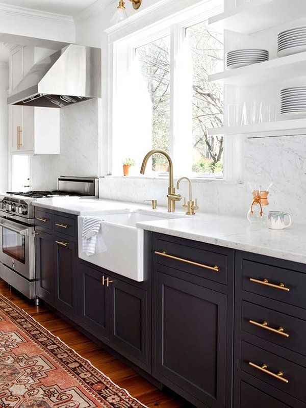 Las cocinas negras son las nuevas cocinas blancas Cocinas negras