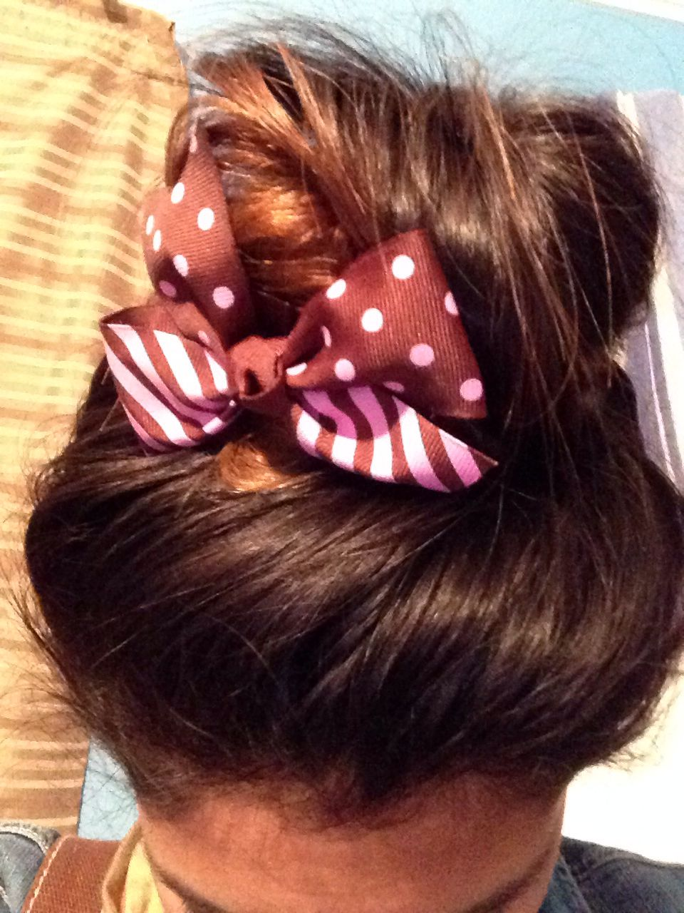Messy bun for silky hair outfit pinterest silky hair messy