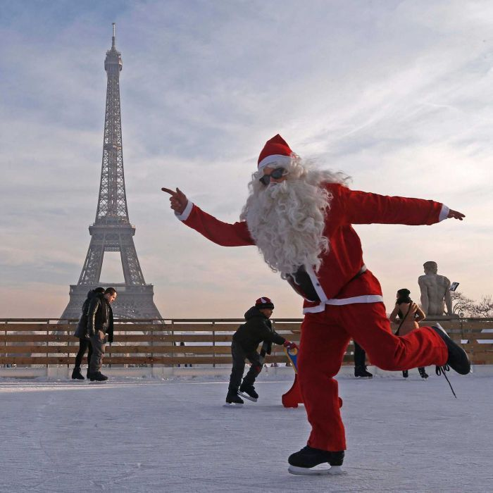 Paris Santa Claus