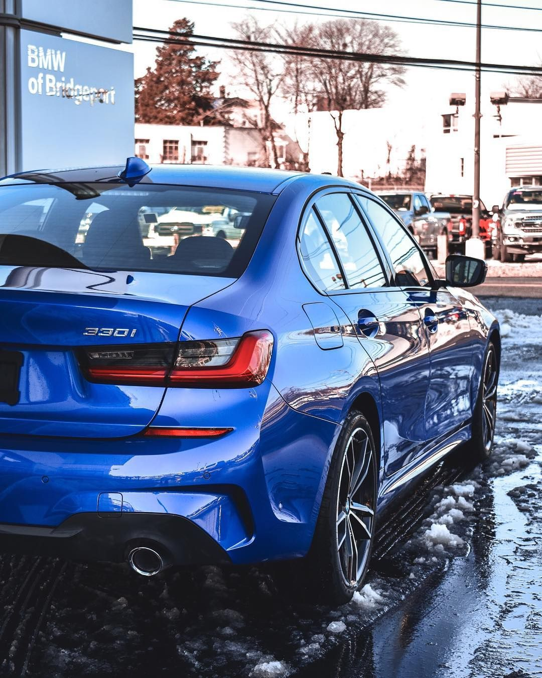 Here S Another Look At Our First G20 Bmw 3 Series Would You Go With The Base Model Or Would You Upgrade To This Aggressive M Sport Bmw Bmw 3 Series Bmw Cars